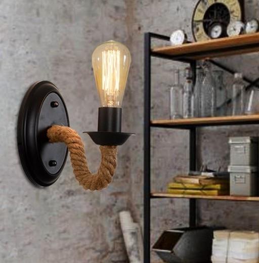 Настенная лампа в стиле лофт