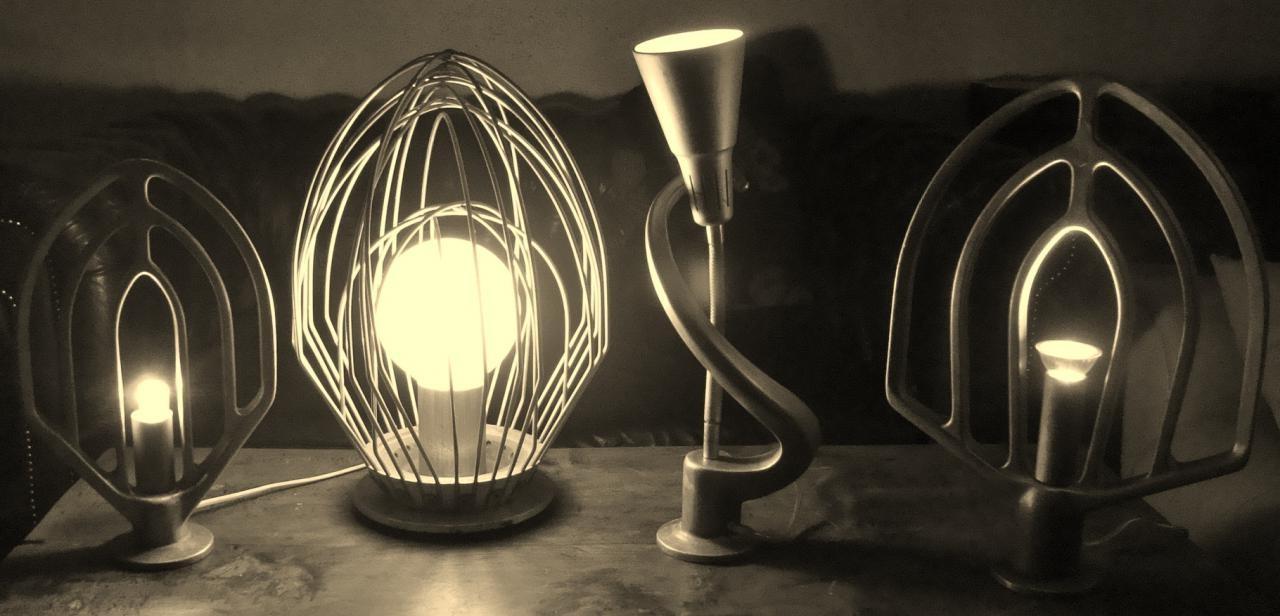 Подборка ламп в индустиальном стиле с необычным дизайном