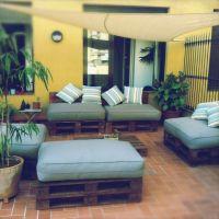 Мебель для сада из паллет МС37