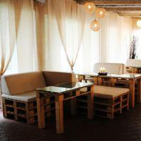 Мебель для кафе из паллет МК73