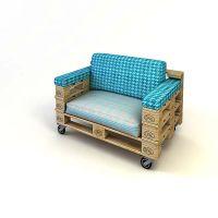 Кресло из паллет КРС52