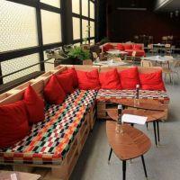 Мебель для кафе из паллет МК61