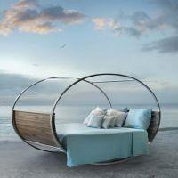 Стильная и необычная кровать-качалка КРО48