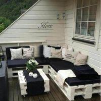 Мебель для сада из паллет МС25