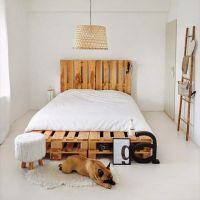 Кровать из поддонов КРО29