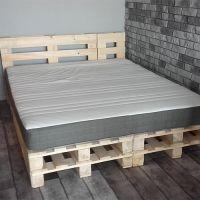 Кровать из поддонов КРО122