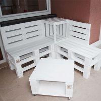 Мебель для дачи из паллет МС61