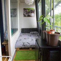 Кровать из поддонов КРО120