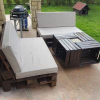 Мебель для сада из паллет МС17