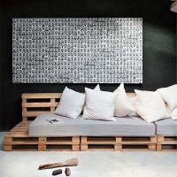 Кровать из паллет КРО76