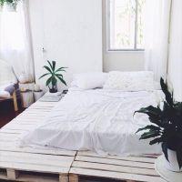 Кровать из поддонов КРО37