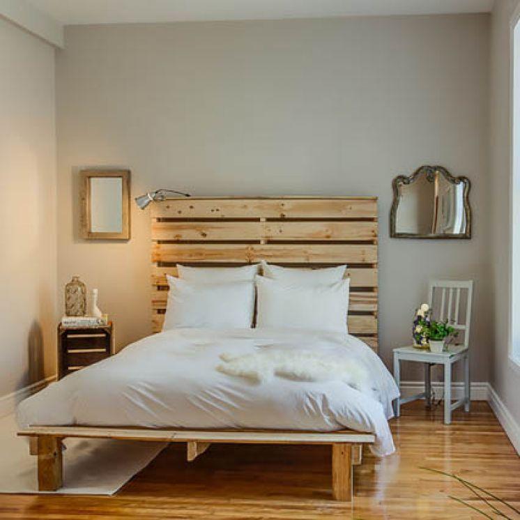 Изголовье кроватей своими руками из дерева