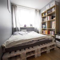 Кровать из паллет КРО123