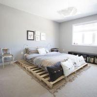 Кровать из поддонов КРО02