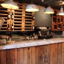 Мебель для кафе из поддонов МК50