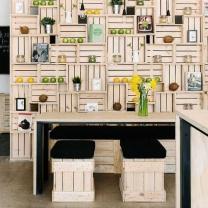 Мебель для кафе из паллет МК117