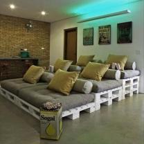 Мебель для кафе из паллет МК11