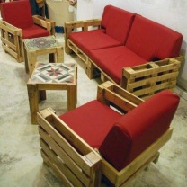 Мебель для кафе из паллет МК35