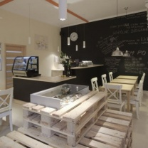 Мебель из паллет для магазина МК151
