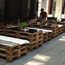 Мебель для кафе из паллет МК137