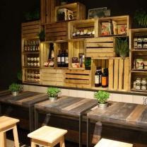 Мебель из паллет для магазина МК157