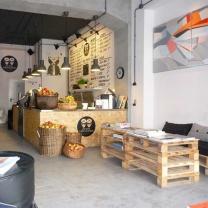 Мебель для кафе из паллет МК89