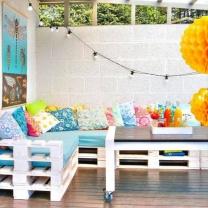 Мебель для кафе из паллет МК25