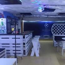 Мебель для кафе из поддонов МК134