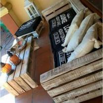 Мебель для кафе из паллет МК121