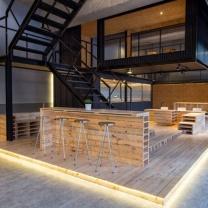 Мебель для кафе из паллет МК93