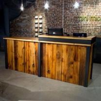 Мебель из паллет для магазина МК156