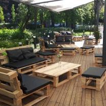 Мебель для кафе из паллет МК113