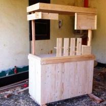 Мебель для кафе из паллет МК05