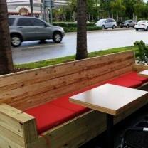 Мебель для кафе из паллет МК49