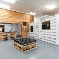 Мебель для кафе из паллет МК103