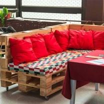 Мебель для кафе из паллет МК53