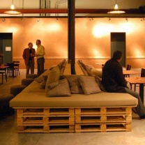 Мебель для кафе из паллет МК63