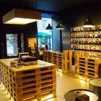 Мебель из паллет для магазина МК163