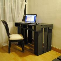 Рабочий стол из поддонов СТ45