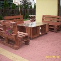 Набор мебели для кафе или сада МК210