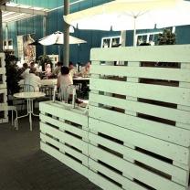 Мебель для кафе из поддонов МК114