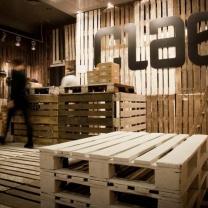 Мебель из паллет для магазина МК152