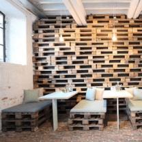Мебель для кафе из паллет МК65