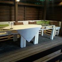 Мебель для кафе из паллет МК200