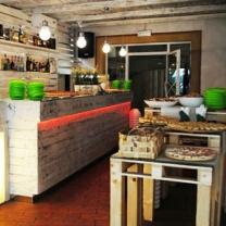Мебель для кафе из паллет МК101