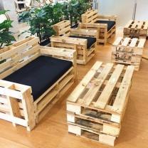 Мебель для кафе из паллет МК147