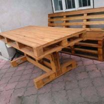 Мебель для кафе из паллет МК31